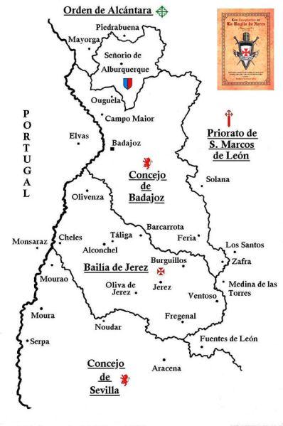 Templarios-en-Baylia-de-Xerez,-mapa